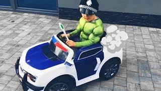 Kids and Pretend Play Police