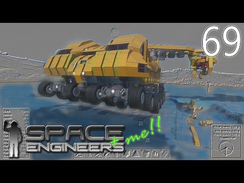 Blueprints! Atlas Mining System Overview | Space Engineers + Me! #69