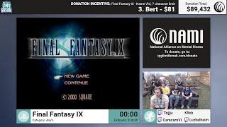 Final Fantasy IX by KRob, CaracarnVi, Luzbelheim, and Tojju (RPG Limit Break 2017 Part 48)