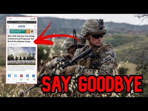 We're Getting Rid of the Marine Corps *BREAKING NEWS*