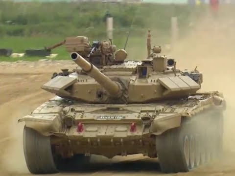 Indian tanks crash out of international military games after engine troubles