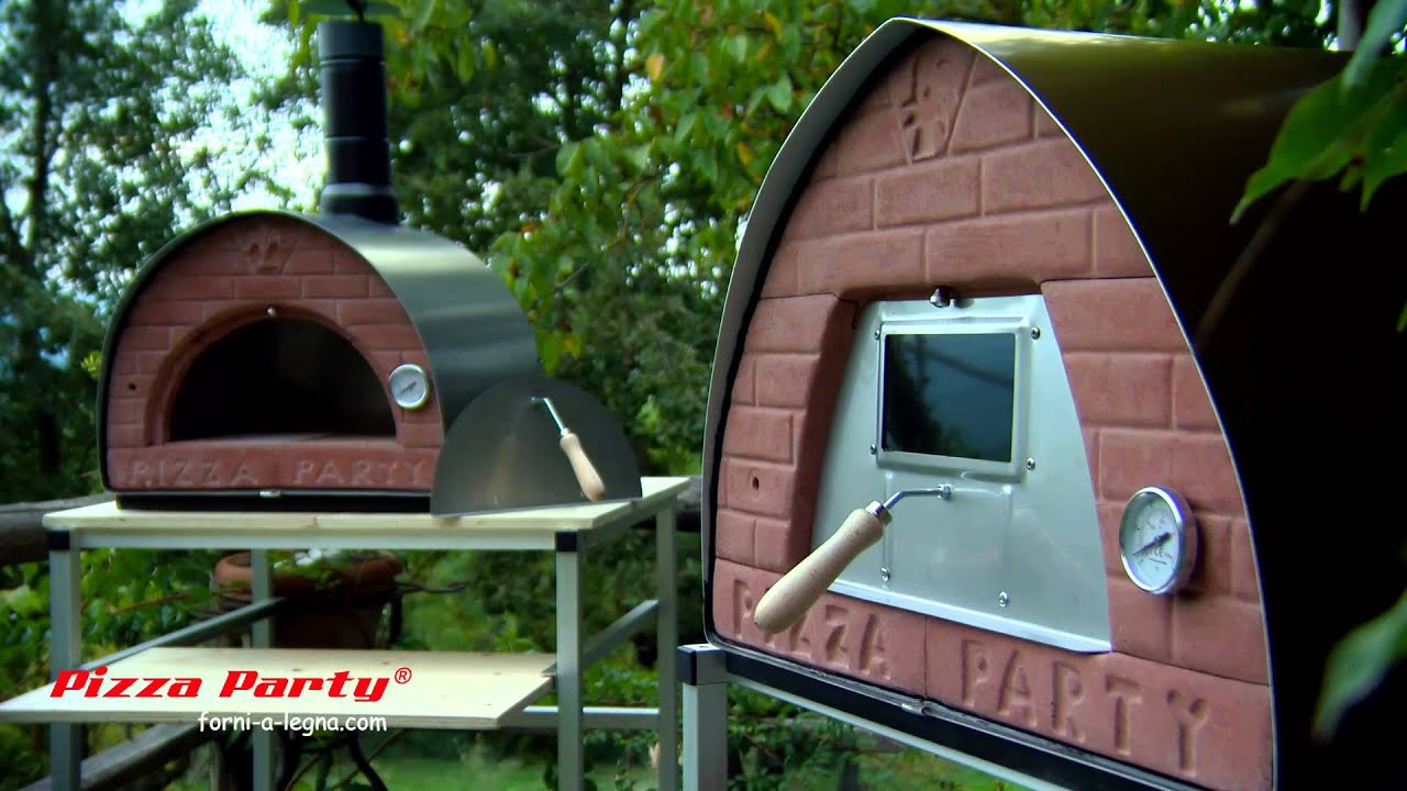 The first portable wood fired pizza oven in the world