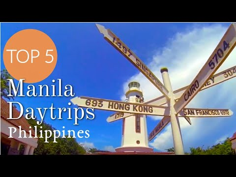 Top 5 Best Day Trip Destinations from Manila Philippines