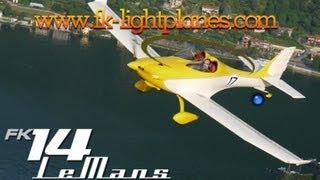 fk lightplanes fk12 comet biplane fk14 lemans light sport aircraft aero expo friedrichshafen