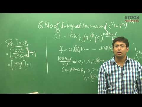 Trick of Binomeal Theorem by Gavesh Bhardwaj GB sir ( ETOOS