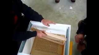 Hüseyin avcı plastik tabanlı strafor kovan tanıtımı