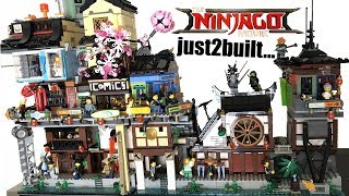 I just2built LEGO Ninjago City Docks... finally!
