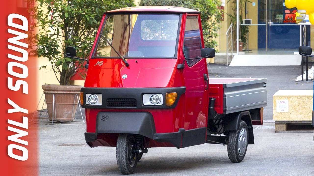 new piaggio ape 50 2019 first preview only sound youtube. Black Bedroom Furniture Sets. Home Design Ideas