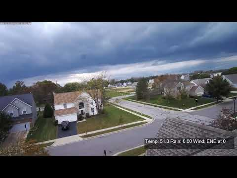 October 15, 2017 Frontal Passage - Canal Winchester, OH