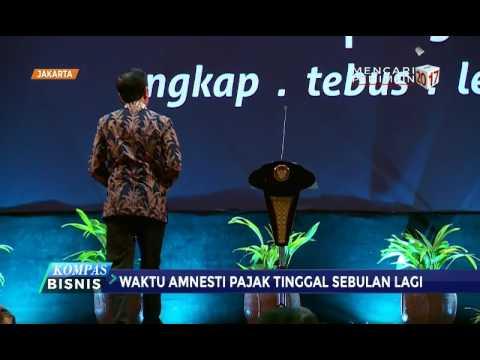 """Presiden Jokowi Dan Menkeu Gelar Sosialisasi """"Tax Amnesty"""""""
