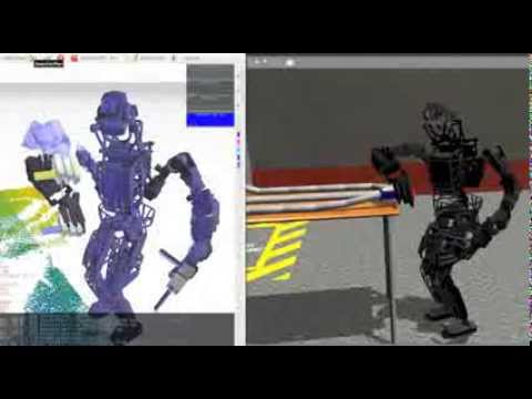 A Summary of Team MIT's Approach to the Virtual Robotics Challenge