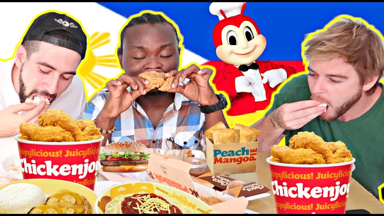 funny-jollibee-eating-with-bare-hands-only-we-became-filipinos