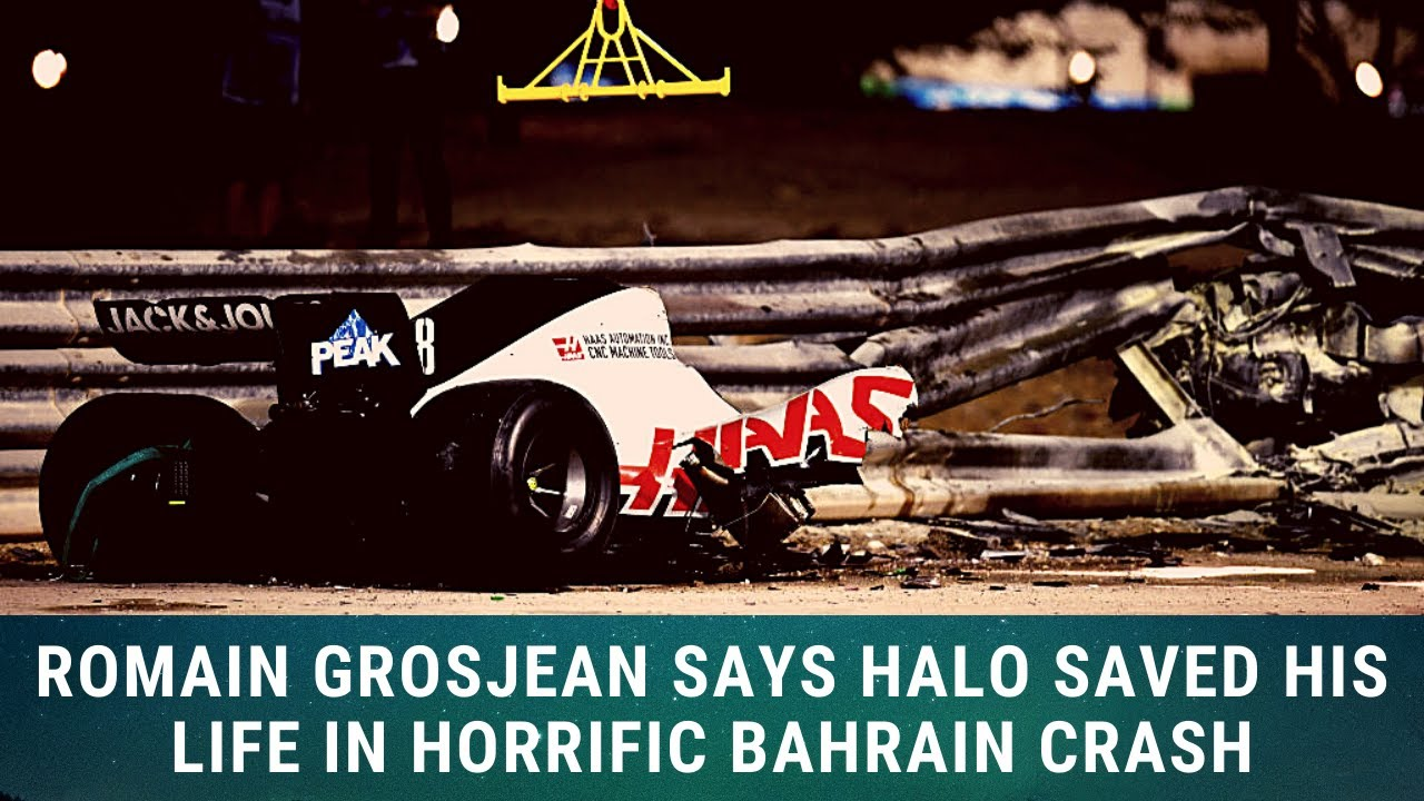 """Download Romain Grosjean in hospital: """"Without the Halo, I wouldn't be here.."""""""