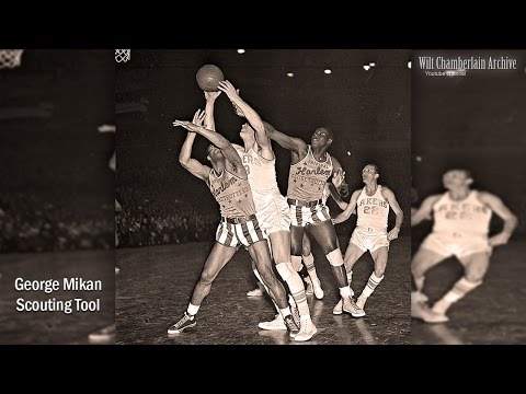George Mikan Scouting Video (First Dominating HOF NBA center)