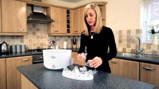 How to Use an Electric Steam Steriliser - Tommee Tippee