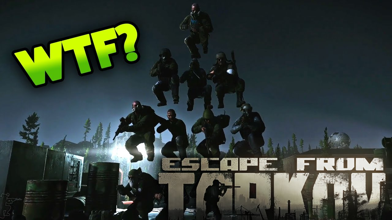 THE EPIC PMC PYRAMID!! | EFT_WTF ep. 137 | Escape from Tarkov Funny and Epic Gameplay