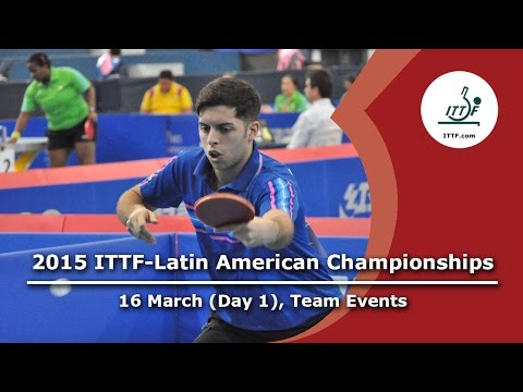 2015 Latin American Championships - Day 1 Teams Event