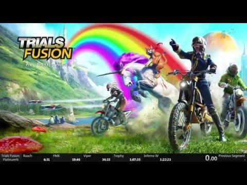 Trials Fusion Platinum% Speedrun 1:13:06