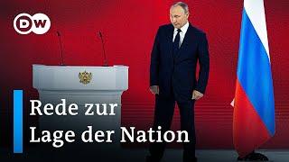 Putin warnt vor dem Überschreiten einer
