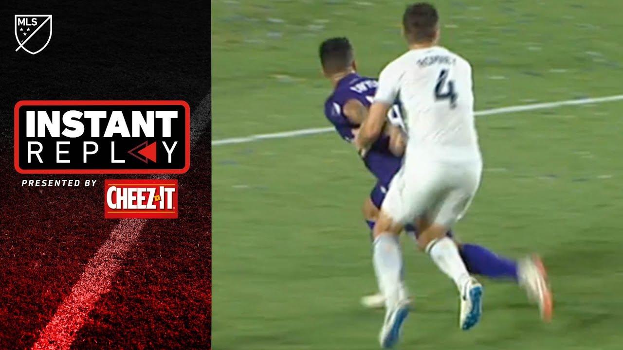 Did Orlando City SC deserve a penalty in a wild 4-3 game vs LA Galaxy?