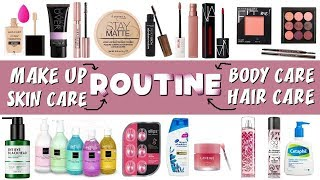 Beauty Podcast Eps 3 - Make Up, Skin Care, Body Care & Hair Care Routine