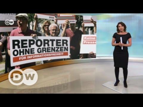 Хуже Гондураса, но лучше Руанды: ситуация со свободой СМИ в России - DW Новости (26.04.2017)