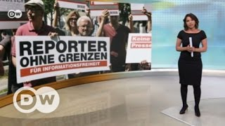 Хуже Гондураса, но лучше Руанды  ситуация со свободой СМИ в России   DW Новости (26 04 2017)