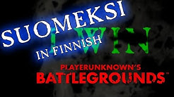 Winner Winner chicken dinner!  #11 | Squad | Suomeksi in Finnish
