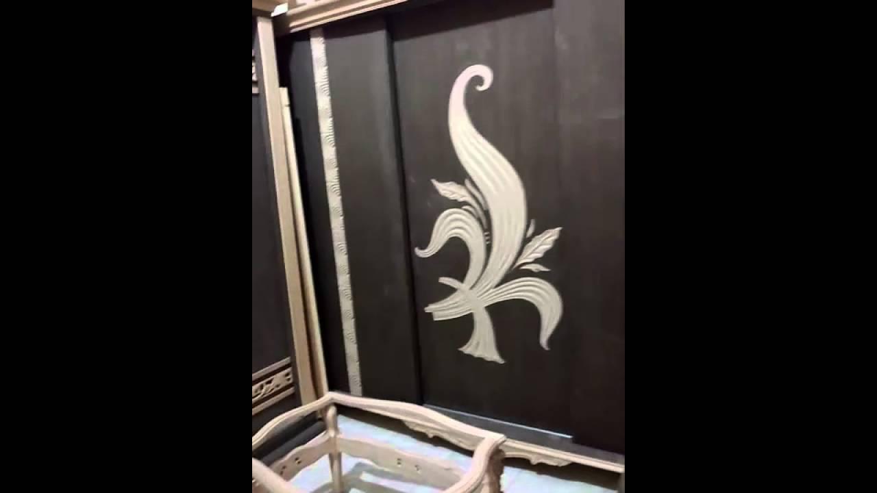 احدث غرف نوم جرار ودلف من اجود انواع الخشب الزان       YouTube