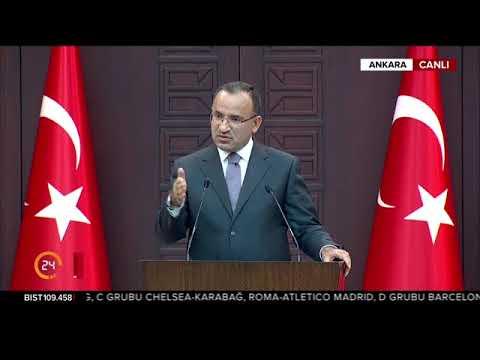 Bakanlar Kurulu sonrası Hükümet Sözcüsü Bekir Bozdağ'ın açıklaması