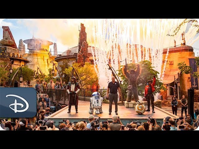 #DisneyParksLIVE: Star Wars: Galaxy's Edge Dedication Moment | Walt Disney World