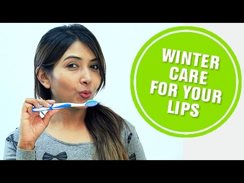 How to take care of your lips in winter
