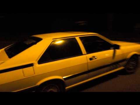 Audi Coupé GT Typ 81 Sound Beschleunigung