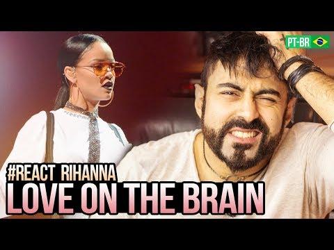 REAGINDO a Rihanna Love On the Brain   at Global Citizen Festival