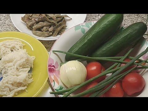 видео: Обед. Что я ем. 250 ккал.