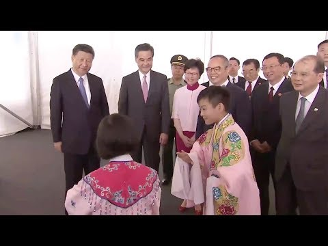 President Xi Jinping visits West Kowloon Cultural District