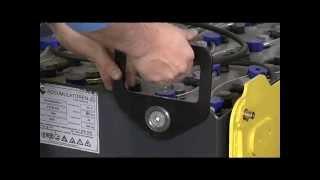 видео Аккумуляторы для подъёмников и штабеллеров