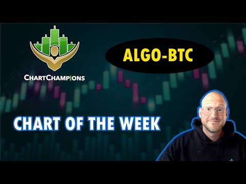 📢 CHART OF THE WEEK -  How I Am Trading ALGO-BTC🍕