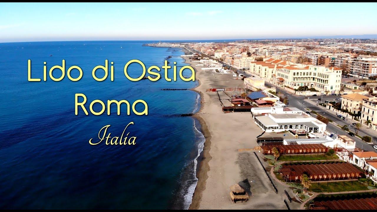 Let 39 s go to italy lido di ostia rome 2019 drone video for Di tommaso arredamenti ostia