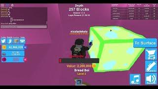 I'm insane stuff! mining simulator roblox
