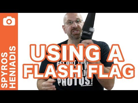 DIY $1 Flag For Greater Flash Control