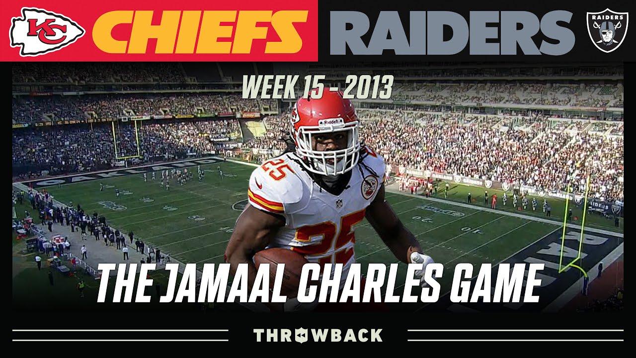 The Day Jamaal Charles BROKE Fantasy Football! (Chiefs vs. Raiders 2013, Week 15)