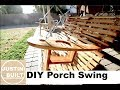 Porch Swing Made From Fence Boards!