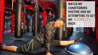 MMA Conditioning and Stretch/ Flexibility Routine - UFC Gym JBR