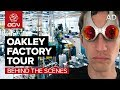 Oakley Factory Tour | How Are Cycling Sunglasses Made?