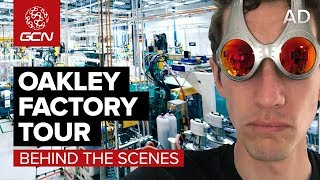 Oakley Factory Tour | How Are Cycling Sunglasses Made? thumbnail