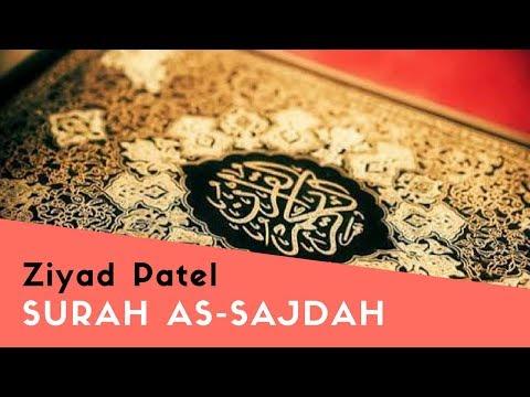Suara Merdu dan menyejukkan hati Ziyad Patel - Surah As-Sajdah