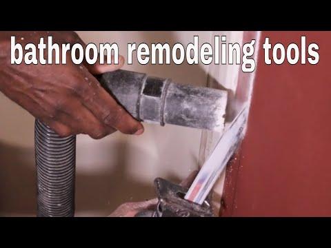 Tools for Bathroom Remodeling