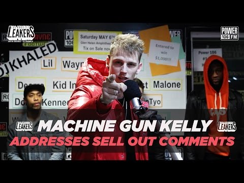 Machine Gun Kelly Addresses Sell Out Comments + Talks New Album 'Bloom'