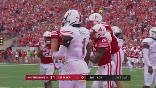 Tanner Lee Scrambles for TD vs. Northern Illinois